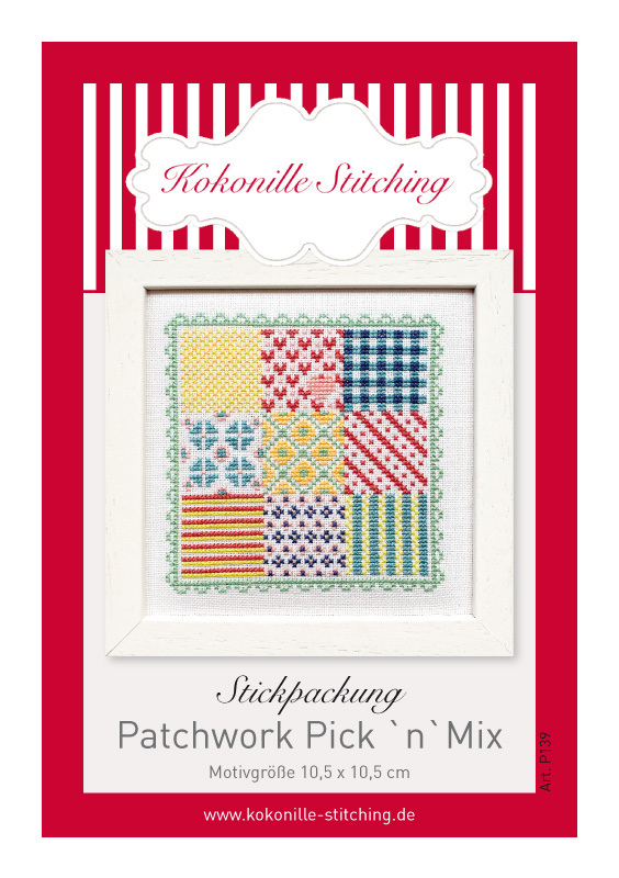 "Stickpackung ""Patchwork Pick`N´Mix"""