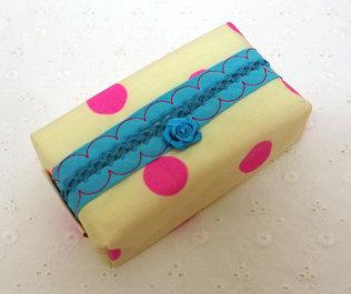 beste Qualität toller Wert neue Version Taschentuchetuis - Kokonille-Stitching